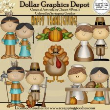 Happy Thanksgiving - Clip Art