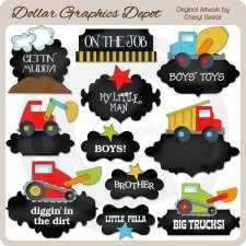 All Boy Chalkboard Frames