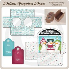 Warm Winter Wishes - Coffee Pod Holder