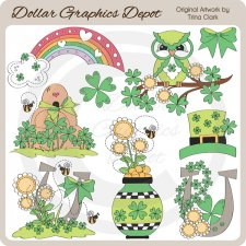 Feelin' Irish - Clip Art