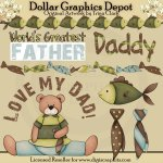 Father's Day Fun - Clip Art