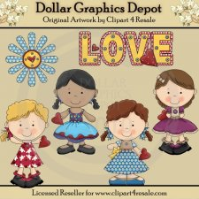 Lovely Ladies - Clip Art - *DGD Exclusive*