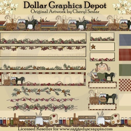 Craft Crazy - Web Graphics Collection