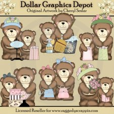 Little Brown Bear - Mother's Day