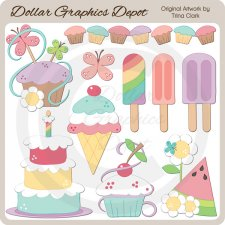 Summer Treats - Clip Art