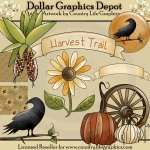 Harvest Trail - Clip Art
