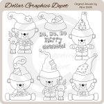 Christmas Bears 3 - Digital Stamps - *DGD Exclusive*