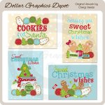 Sweet Christmas Wishes Cards