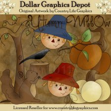 Autumn Willow - Clip Art