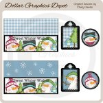 Warm Winter Wishes - Coffee Pod Packets