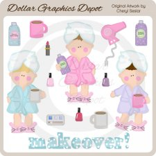 Mommy Makeover - Clip Art