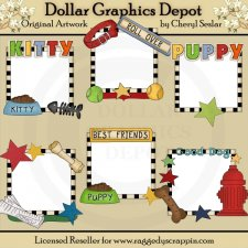Picture Helpers - Little Pets - Clip Art