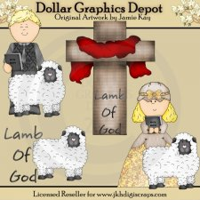 Lamb of God 1 - Clip Art