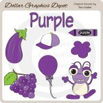 Colors - Purple - Clip Art