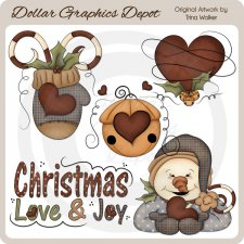 Christmas Love 1 - Clip Art