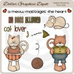Cat Lover - Clip Art