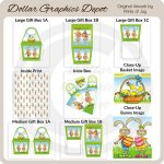 Easter Bunny Printable Set 3