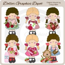 Sherry Lee - Valentine Wishes - Clip Art - *DGD Exclusive*
