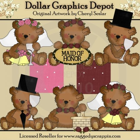 Tattered Teddies - Wedding