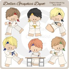 Karate - Clip Art - *DGD Exclusive*