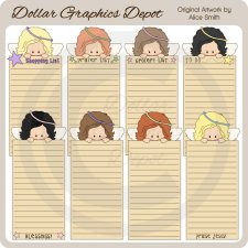 Angel Lists - Printables - *DGD Exclusive*