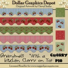 Sweet Cherries Designer's Set - *DGD Exclusive*