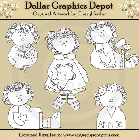Sweet Annies - Digital Stamps - *DGD Exclusive*