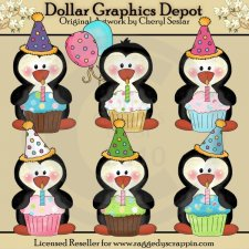 Cupcake Penguins