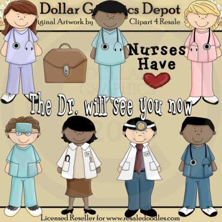 The Dr. Will See You Now - Clip Art