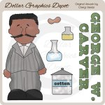 George W. Carver - Clip Art