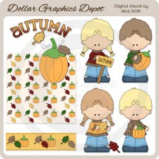 Autumn - Clip Art - *DGD Exclusive*