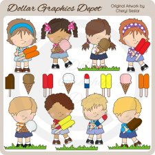 Sweet Treat Kids - Clip Art