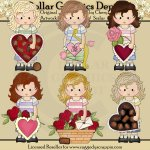 Felicity Jane - Be My Valentine - Clip Art