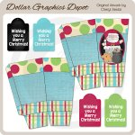 Christmas Popcorn Boxes and Tags
