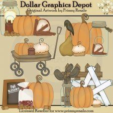 Fall Prims - Clip Art