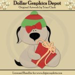 Yuletide Doggies 3 - Cutting Files / Paper Piecing Patterns