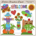 Autumn Welcome - Clip Art