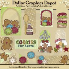 Christmas Cookies - Scrappin Delights