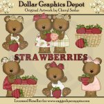 Strawberry Bears - *DGD Exclusive*