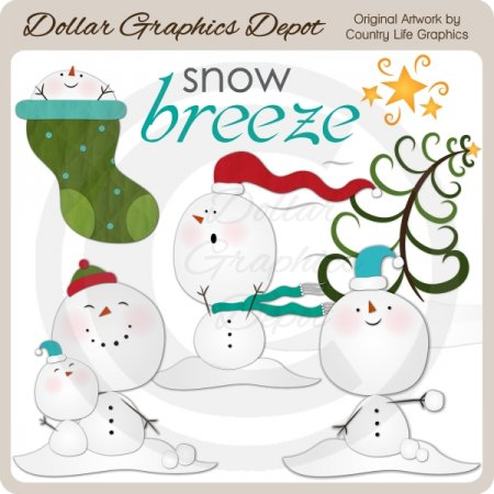 Snow Breeze - Clip Art
