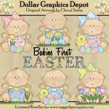 Just Babies - Easter - Clip Art