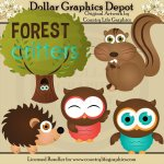 Forest Critters - Clip Art
