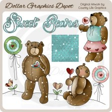 Sweet Bears - Clip Art