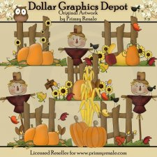 Fall Fences - Clip Art