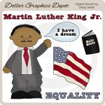 Martin Luther King Jr. - Clip Art
