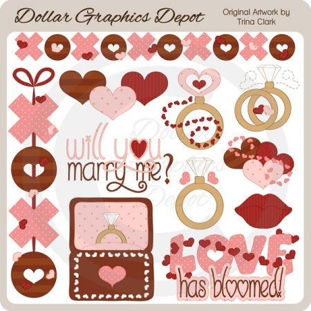 Marry Me - Clip Art