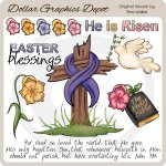 Easter Blessings 1 - Clip Art