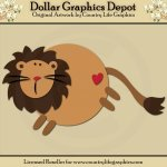 Jungle Lion - Cutting Files / Paper Piecing Patterns