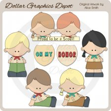 Scouts - Clip Art - *DGD Exclusive