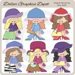 High Heels and Hats - Clip Art - *DGD Exclusive*